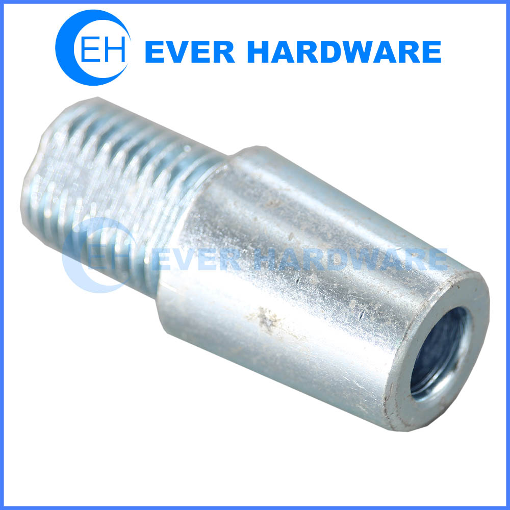 Male female bolt internal thread and external thread cutting conical