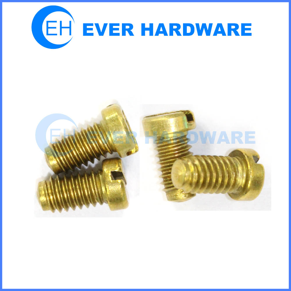 brass cheese machine screws