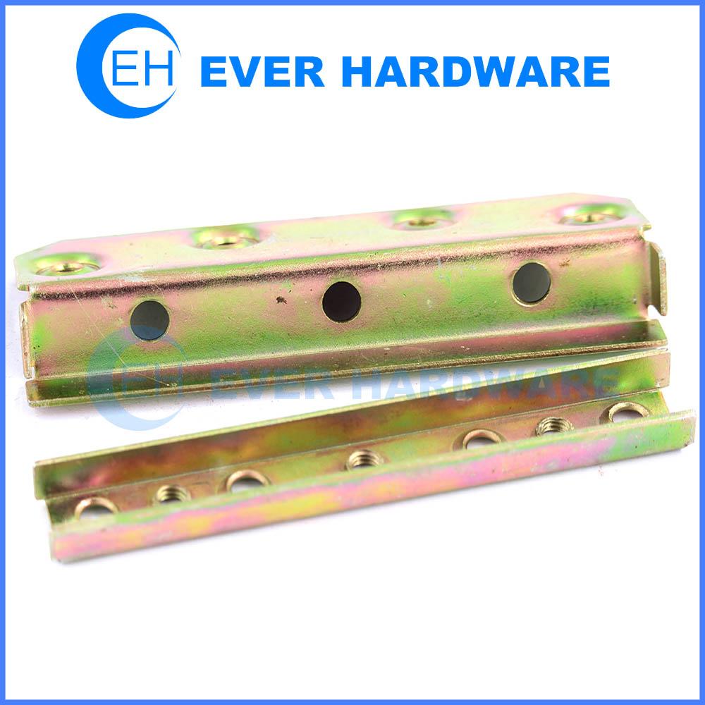 Bed Frame Hardware Parts Knock Down Bed Hardware Plating