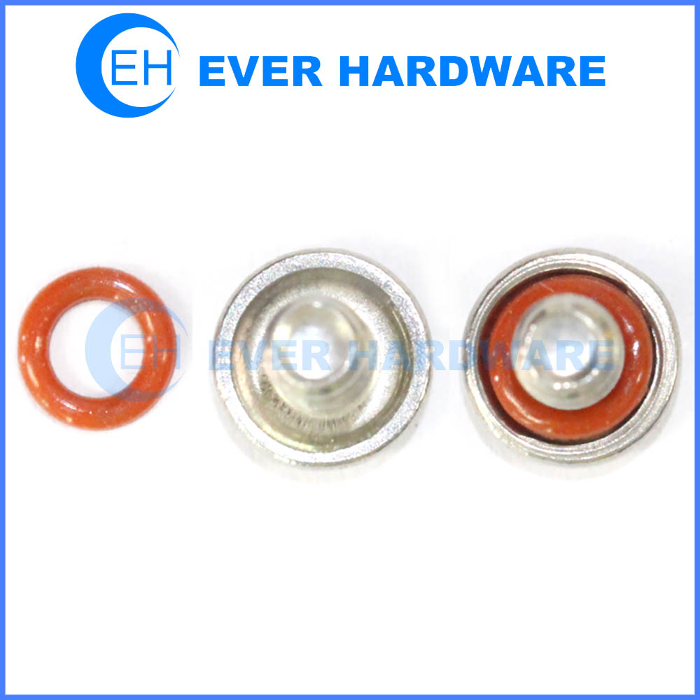 O Ring Screws Silicone Rings Self Sealing Screws With