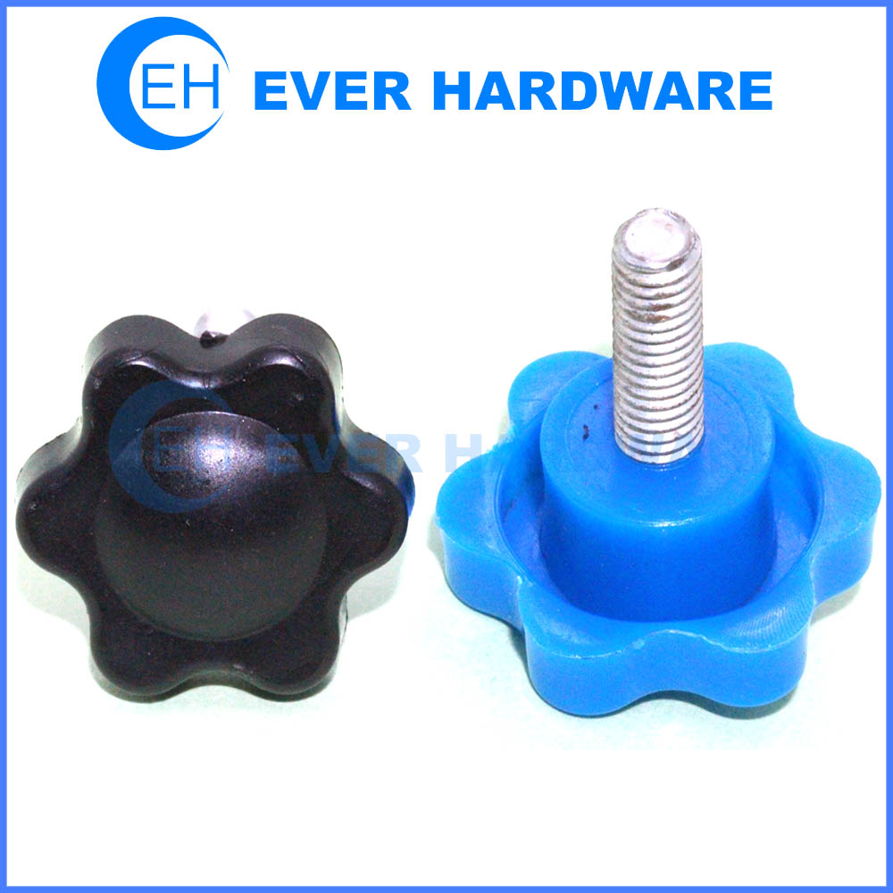 Knurled Nut Clamping Nut Star Nut Star Handle Cross Handle M4 Star Handle Nut