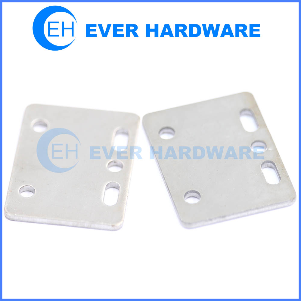 Steel Angle Bracket High Tensile Zinc Plated 90 Degree