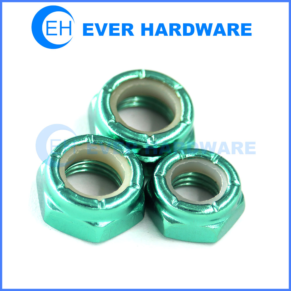 Skateboard axle nut