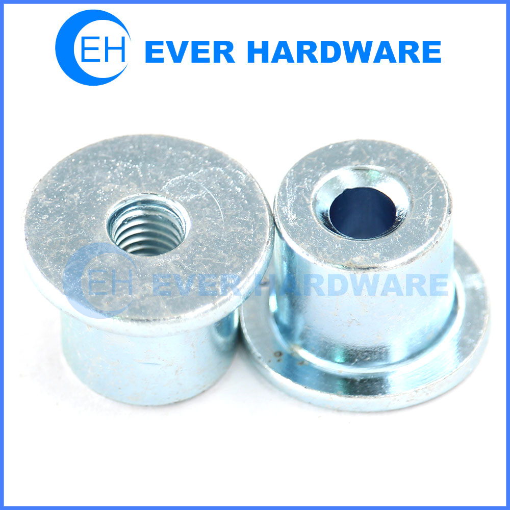 Special Nut Steel Manufacturer Metric Threaded Zinc Plating