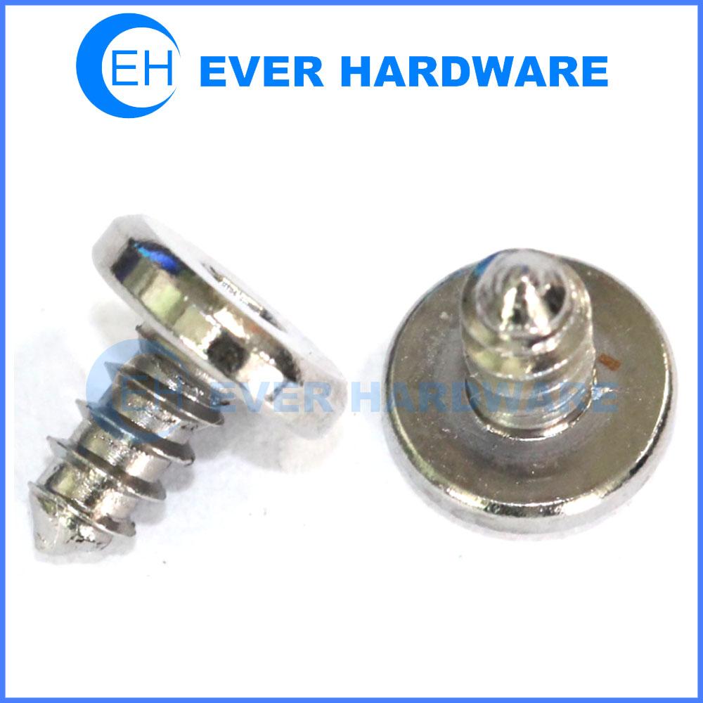 Flat screw electrical screws stainless steel cheese head screw