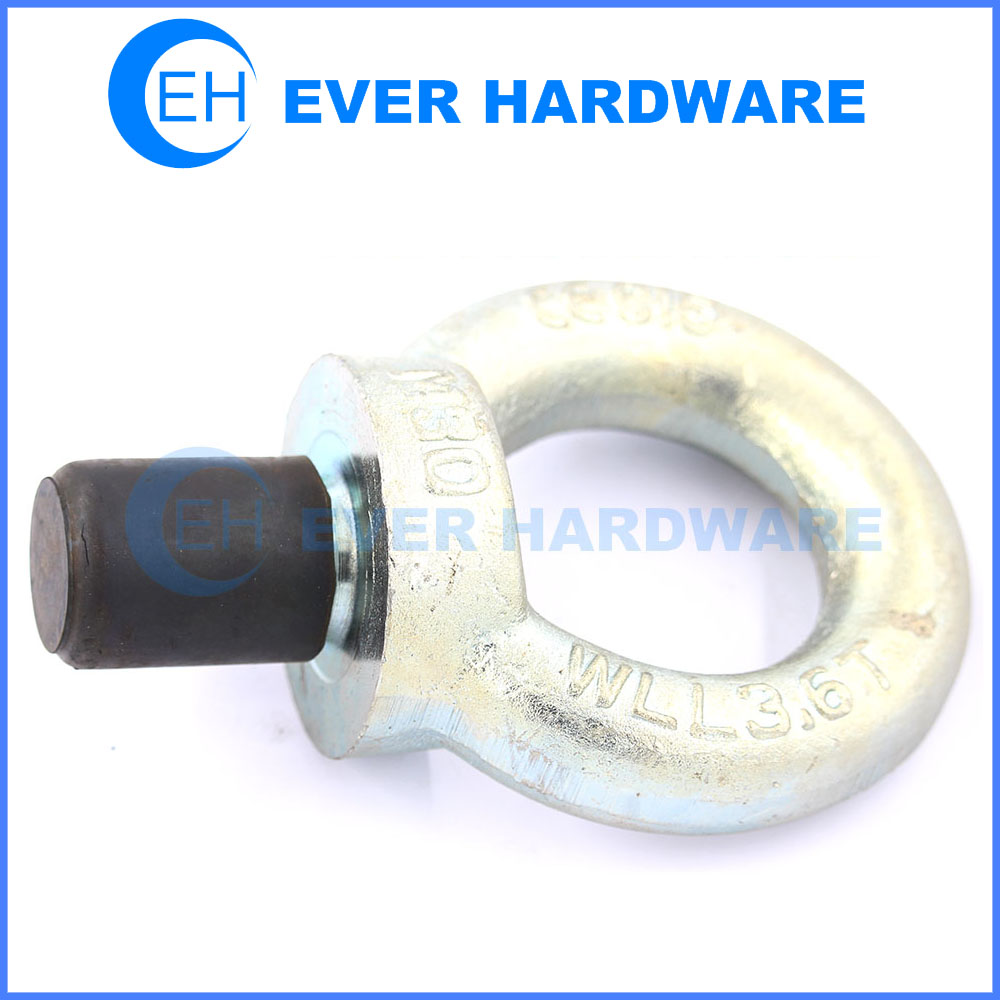 Galvanized eye bolts steel eye bolts supplier ring bolt lifting bolt M30