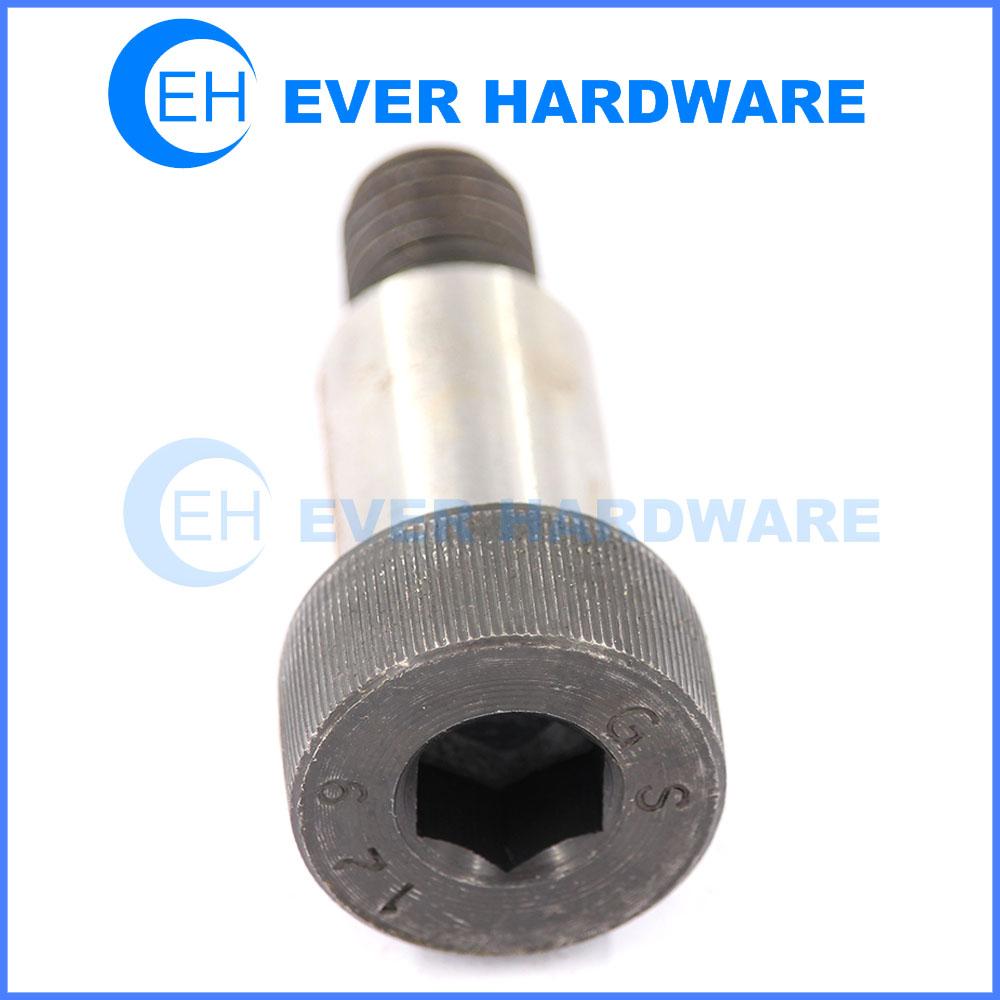 Hex head shoulder screw hex shoulder bolt grade 12.9 precision bolts