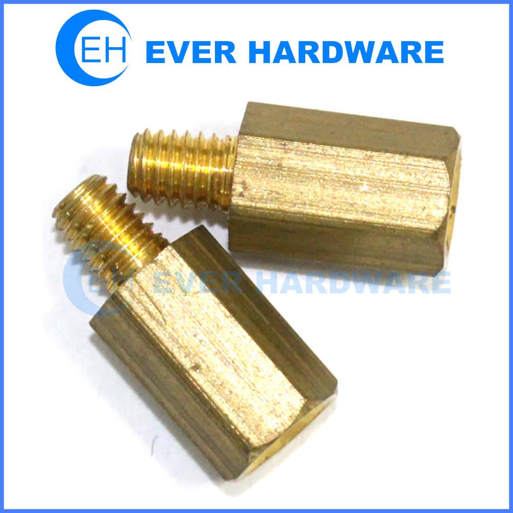 Jackscrews metal standoff fasteners PCB brass spacers
