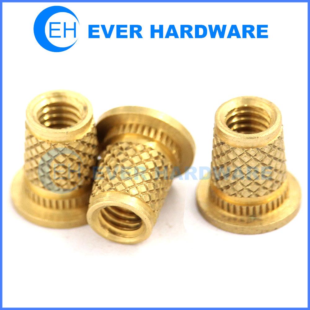 Knurled thumb nuts knurled nuts brass threaded fasteners