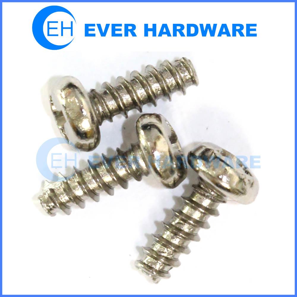 Panhead screw M3 metal stainless small screws manufacturer