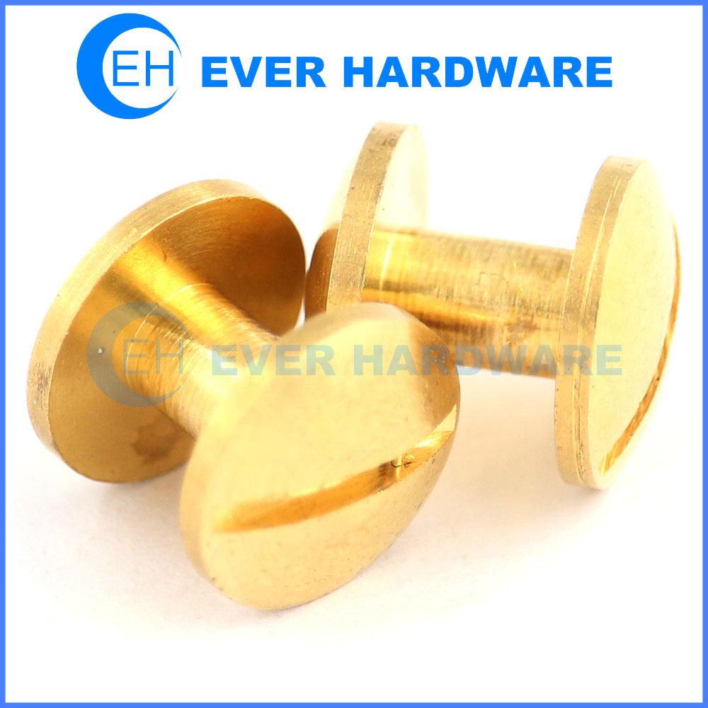 Post screw school binders post fasteners leather binder screw binding