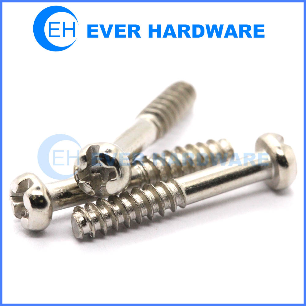 Round head screw stainless fasteners thread forming screws