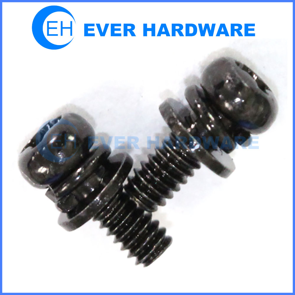 Sems hardware screw washer assembly screw with washer attached
