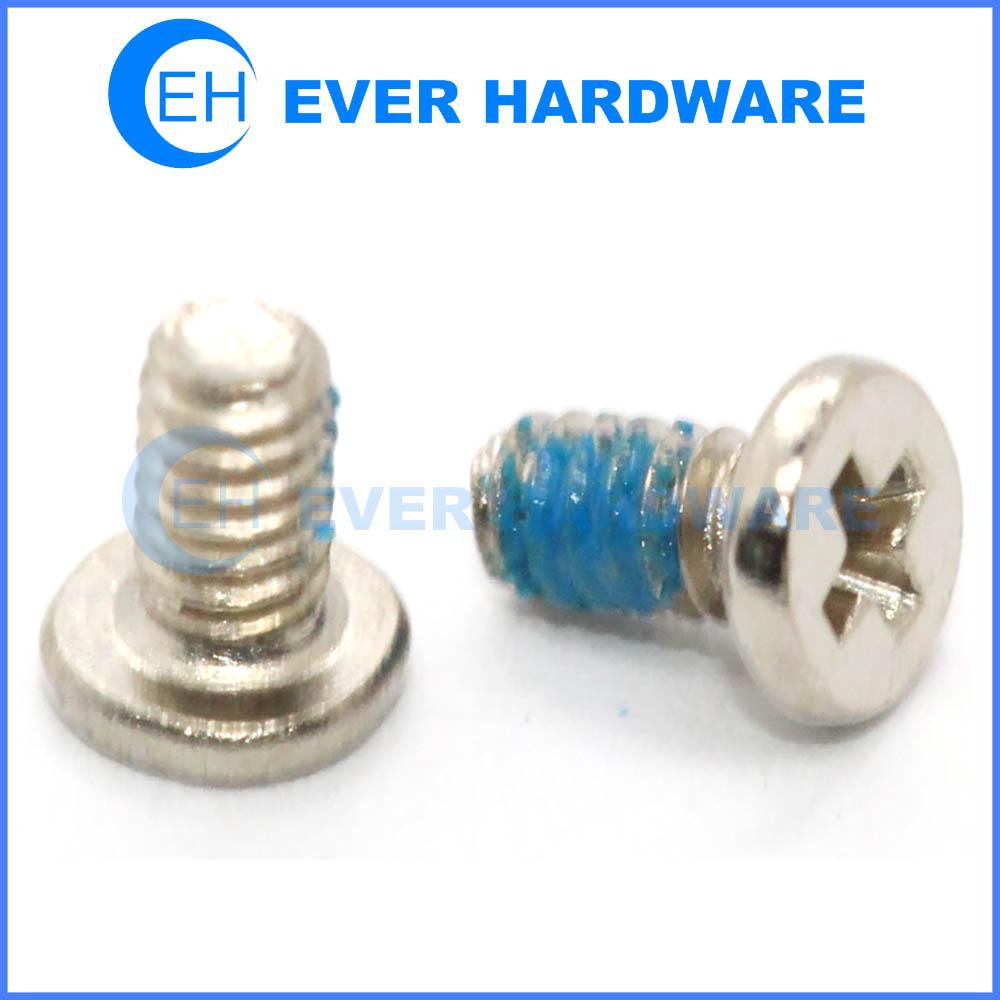 Small machine screws micro screws for electronics nylon patch