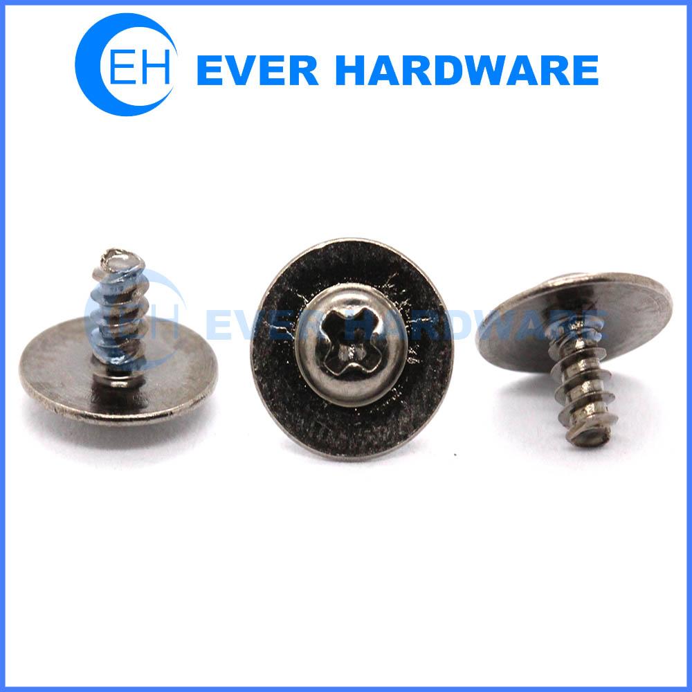 Washer head screws large steel flat washers pan washer head