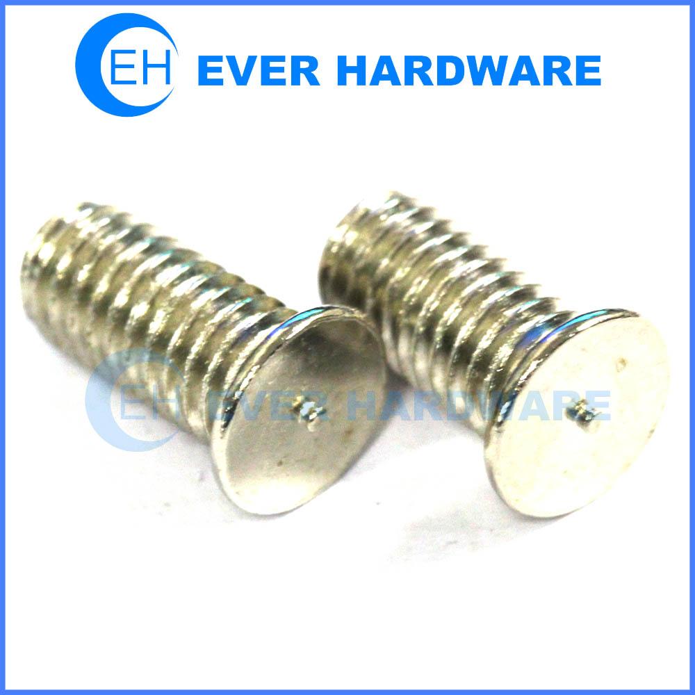 Lighting Basement Washroom Stairs: Weld Studs Welding Screw Threaded Weld Studs Steel Galvanized
