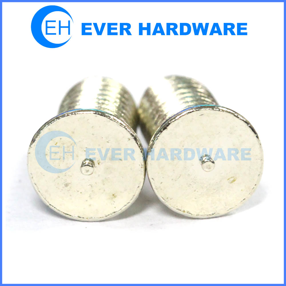 Welded threaded studs projection weld studs projection welding