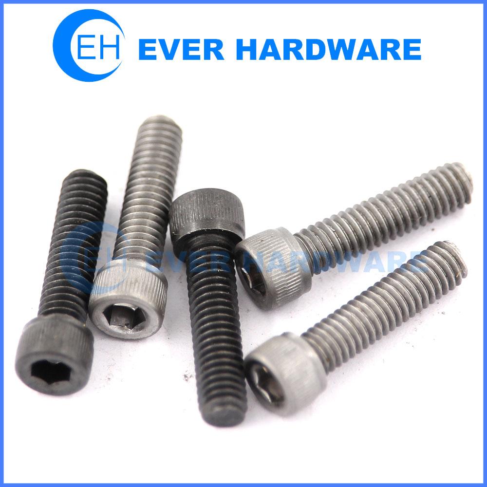 Allen key screws socket head cap black phosphated high tensile bolts
