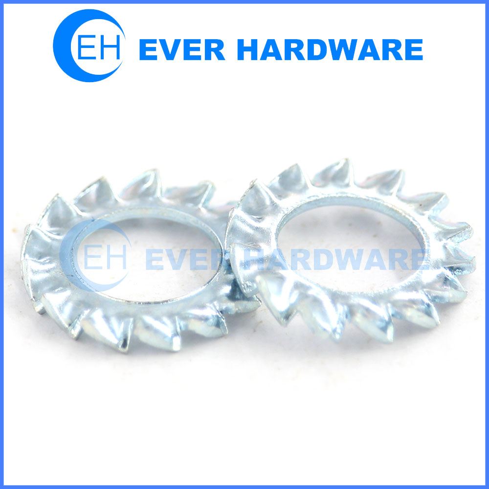 Anti slip washer out toothed serrated lock metal star washers supplier