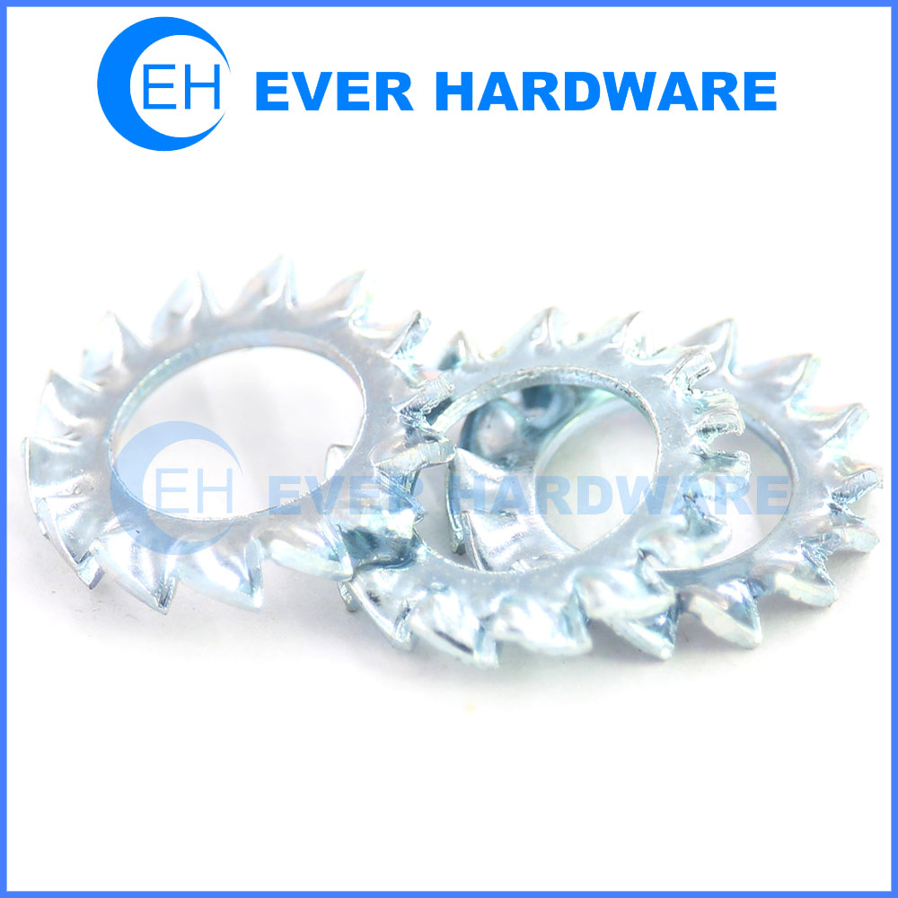Bearing lock washer external star lock washers hardened tooth washer
