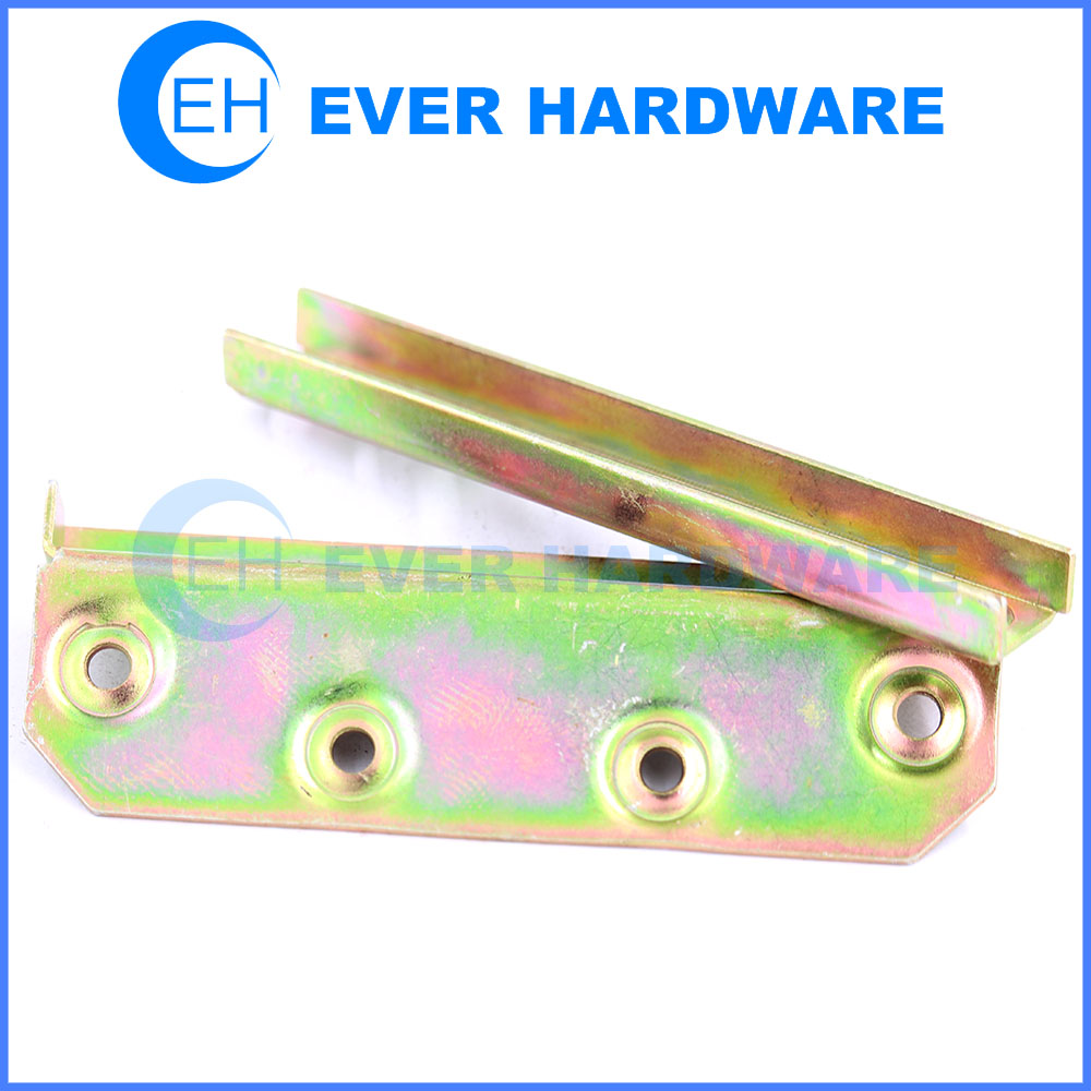 Bed fitting heavy duty bed brackets wood bed frame hinges manufacturer