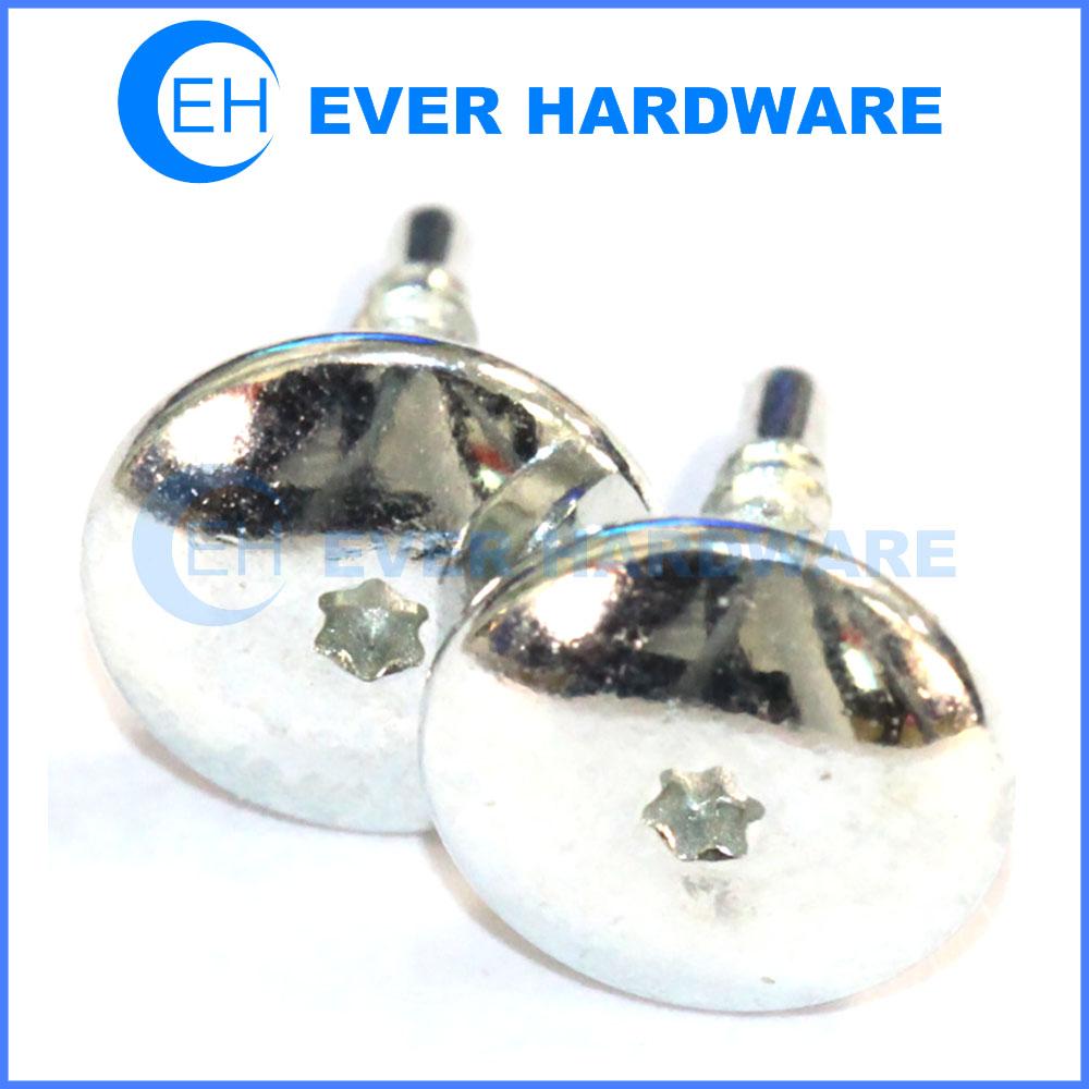 Big head screws white electrophoresis torx drive screws for shoes