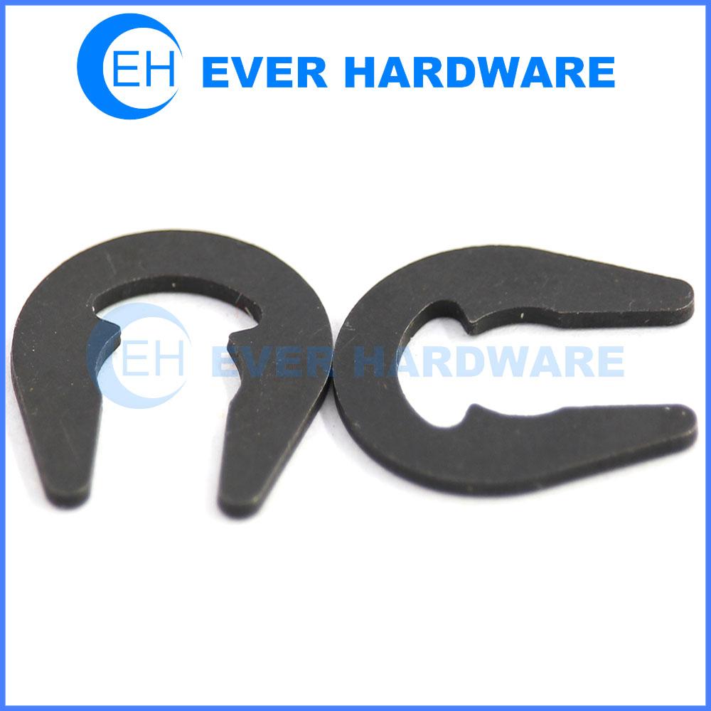 Buckle circlips U shape retaining ring locking washer for shaft e clip