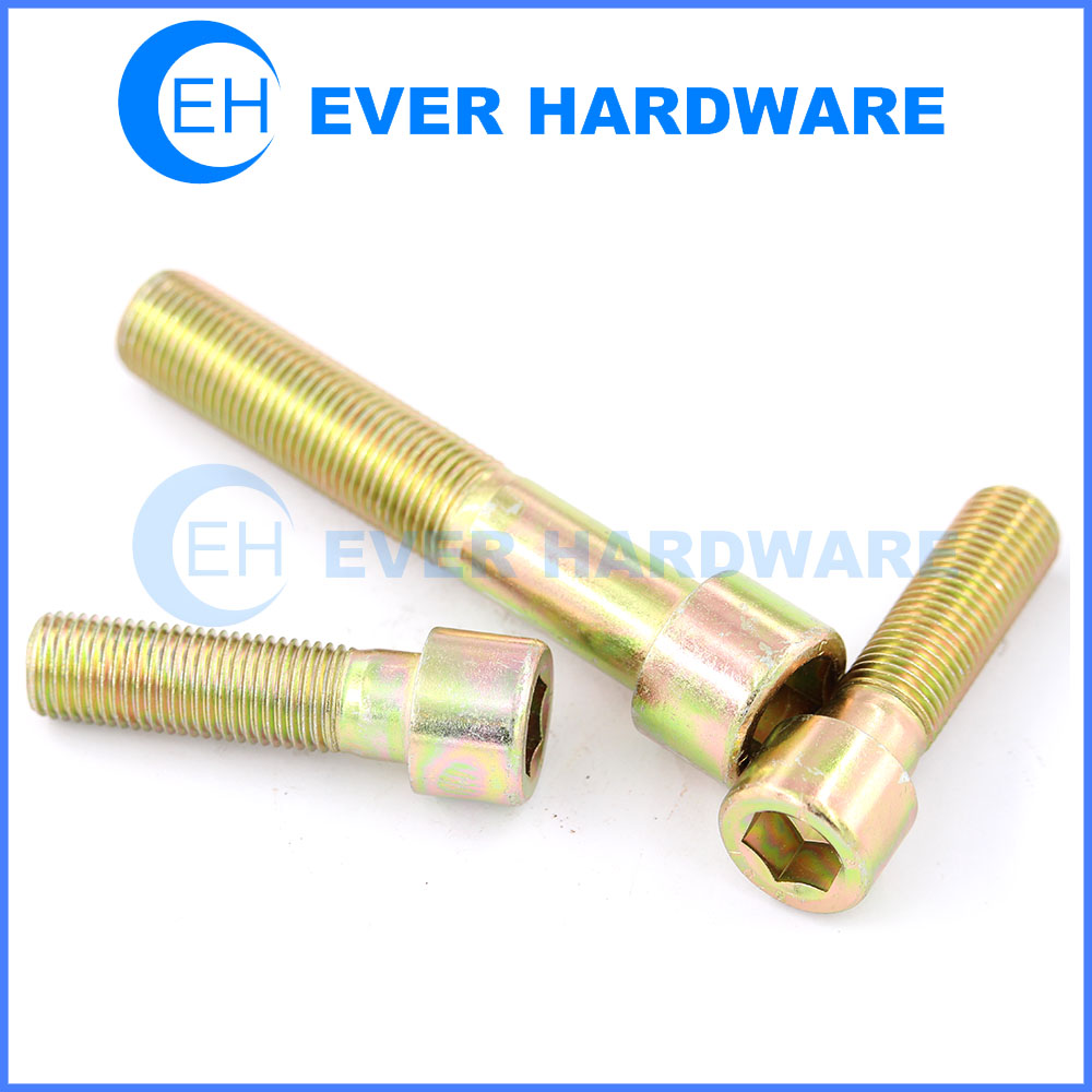 Cap screw DIN 912 hex socket head cap screw high tensile manufacturer
