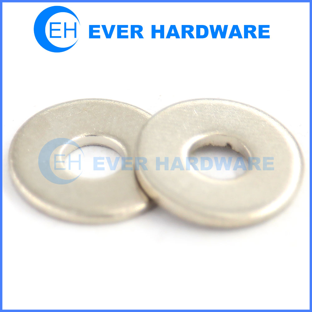 DIN 125A ISO 7090 stainless steel washers large flat washers supplier