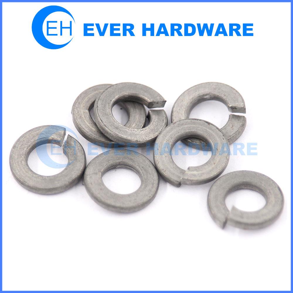 DIN 127 washer hardened steel spring washer ISO 7089 manufacturer