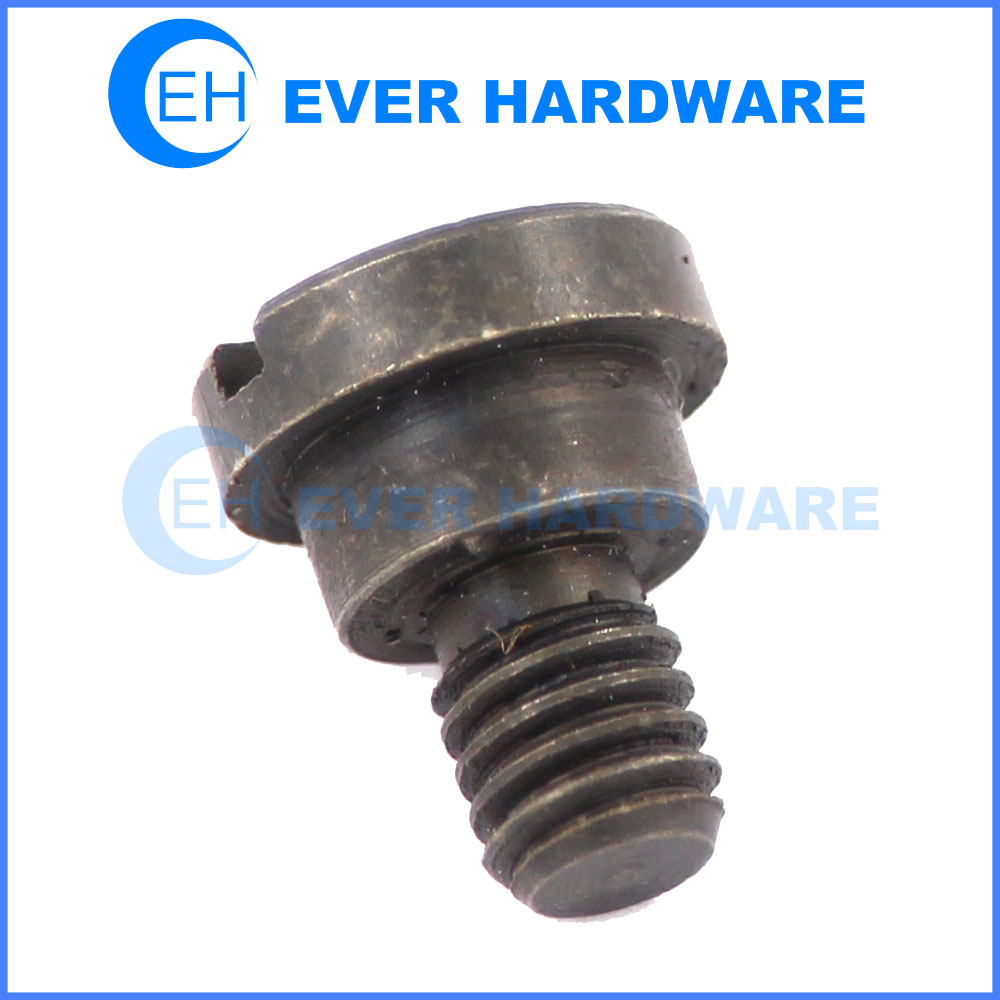 DIN 923 screws slotted shoulder screw flat head shoulder screw