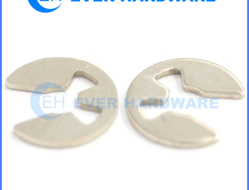 E retaining rings DIN 6799 external E-ring circlip stainless steel