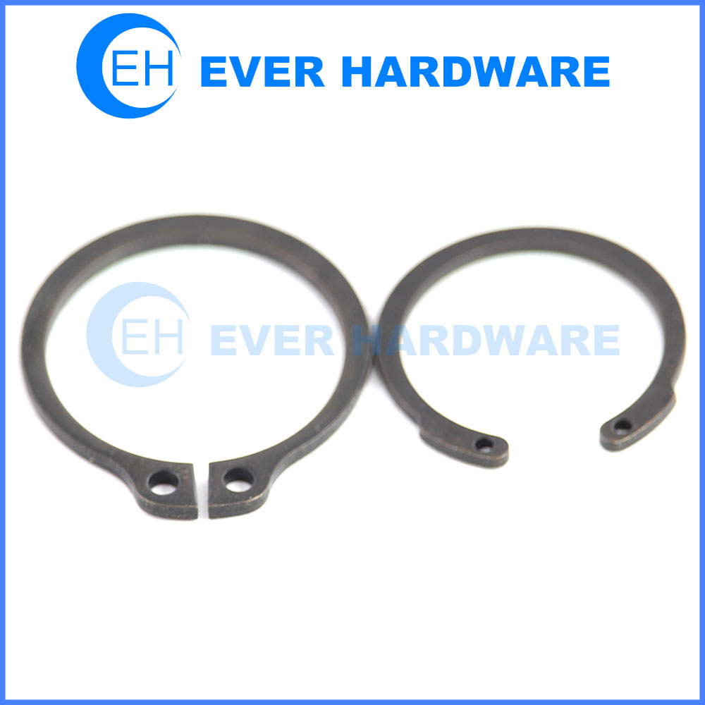 Round Wire Retaining Ring External