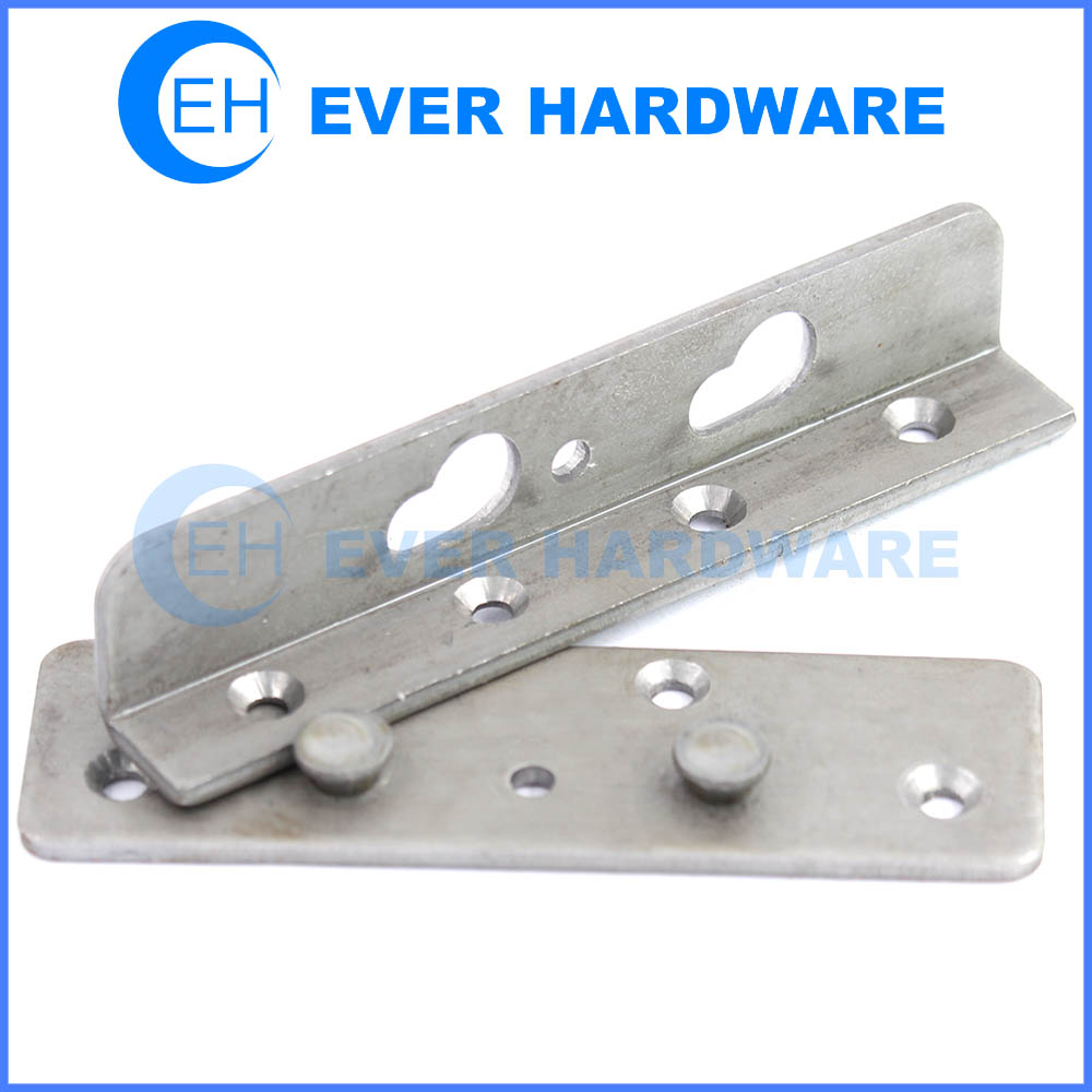 Heavy duty bed fitting frame mounting hardware bed rail hook supplier