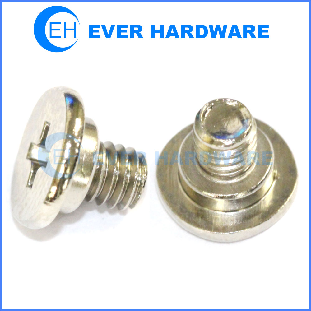 Pan head screw with shoulder phillips cross stainless steel manufacturer