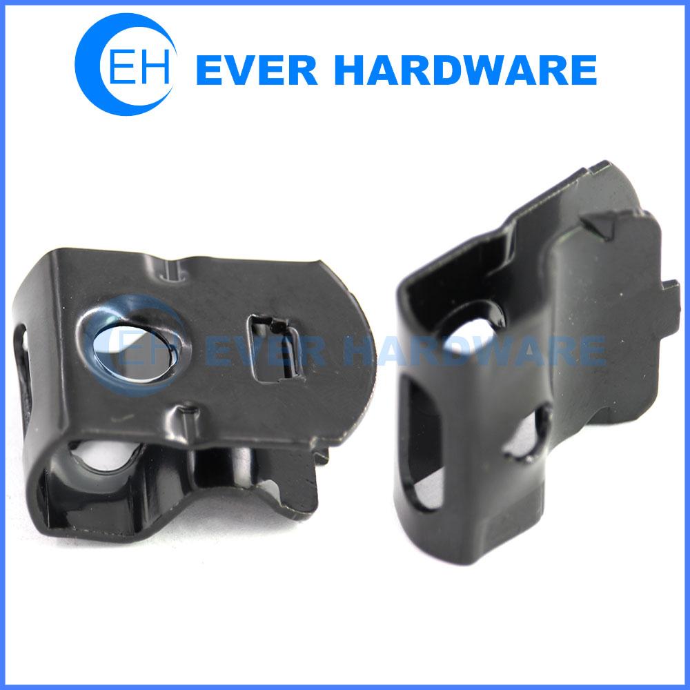 Sheet metal stamping bending black coating metal stamping manufacturer