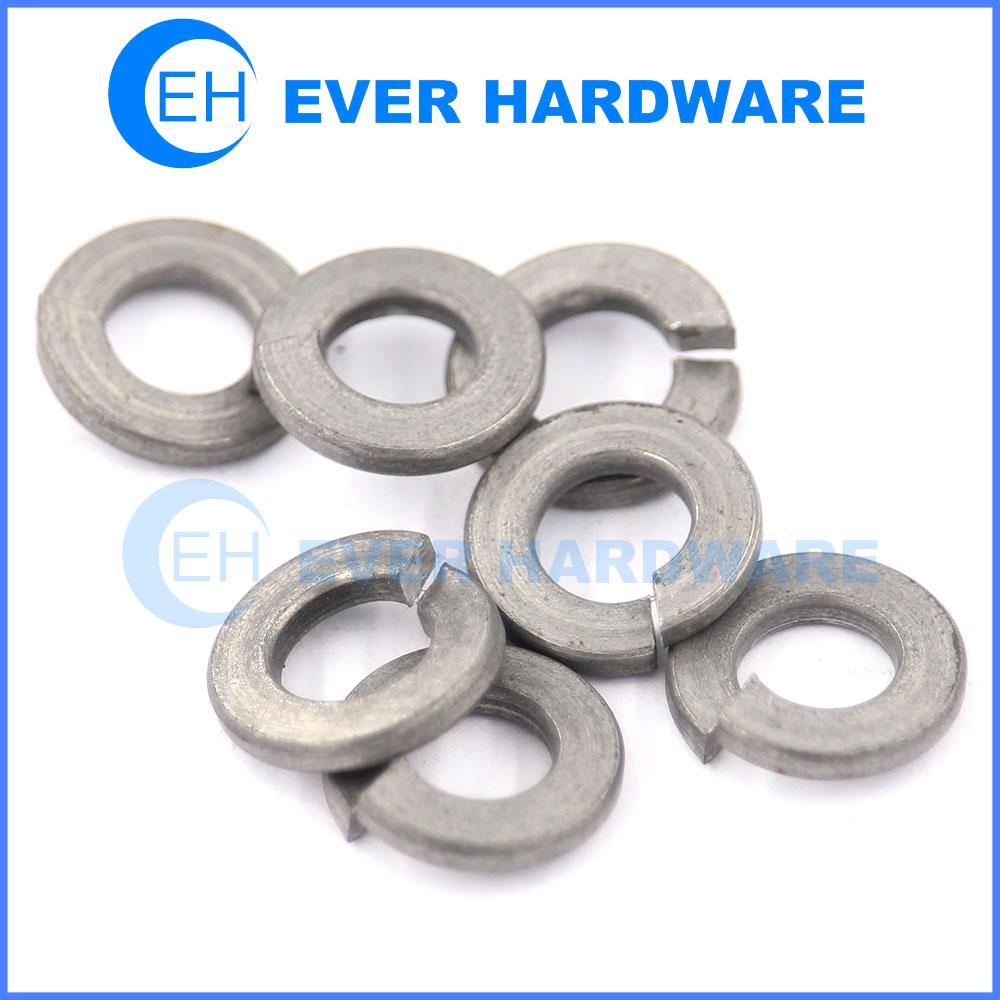 Split washer metric steel spring washers DIN 127 ISO 7089 lock washer