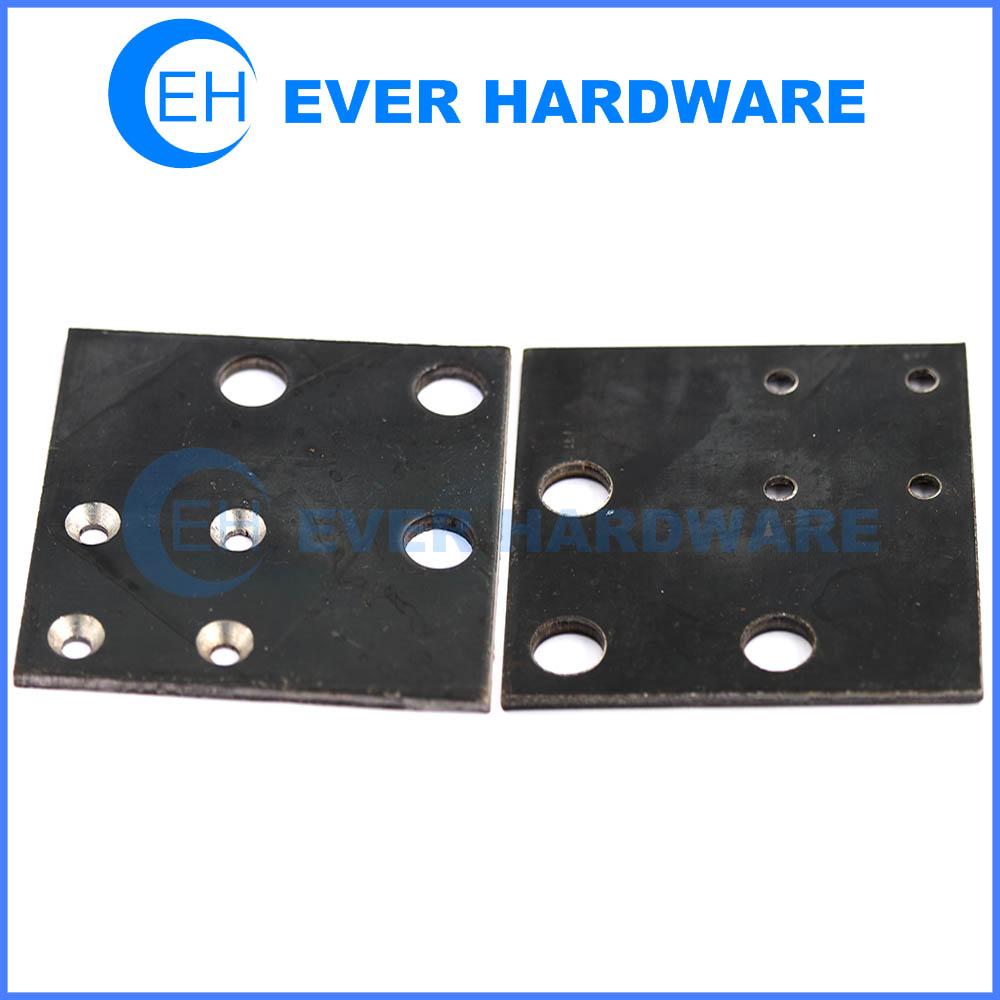 Square steel brace strut accessories 7 holes black galvanizing supplier
