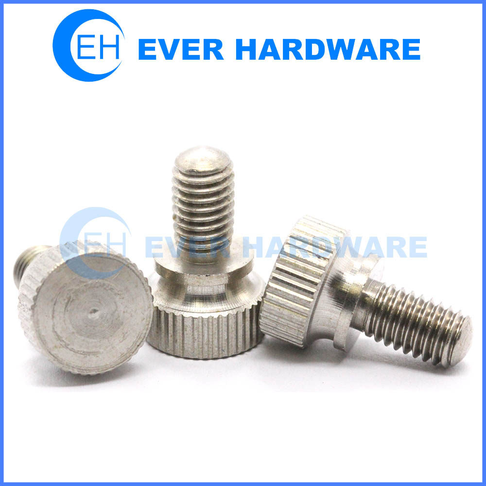 undercut machine screws