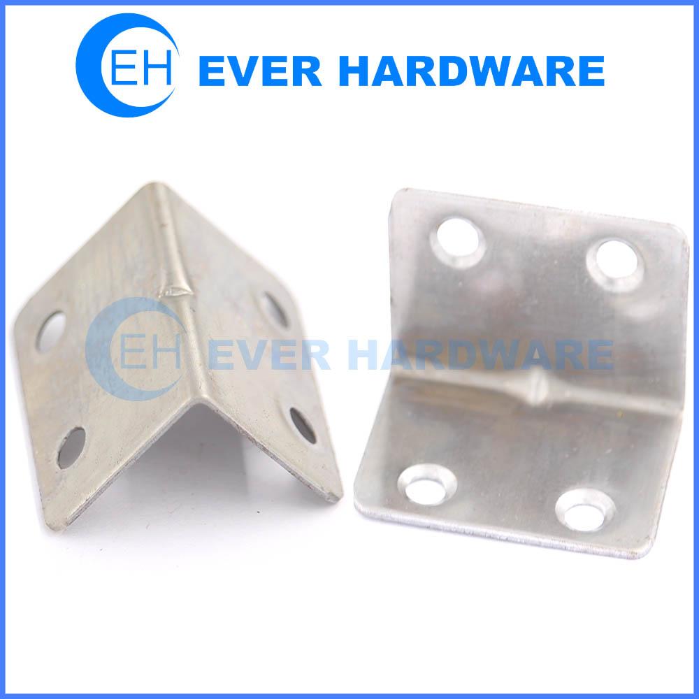 Steel angle brackets corner right angle hole angle brackets for wood