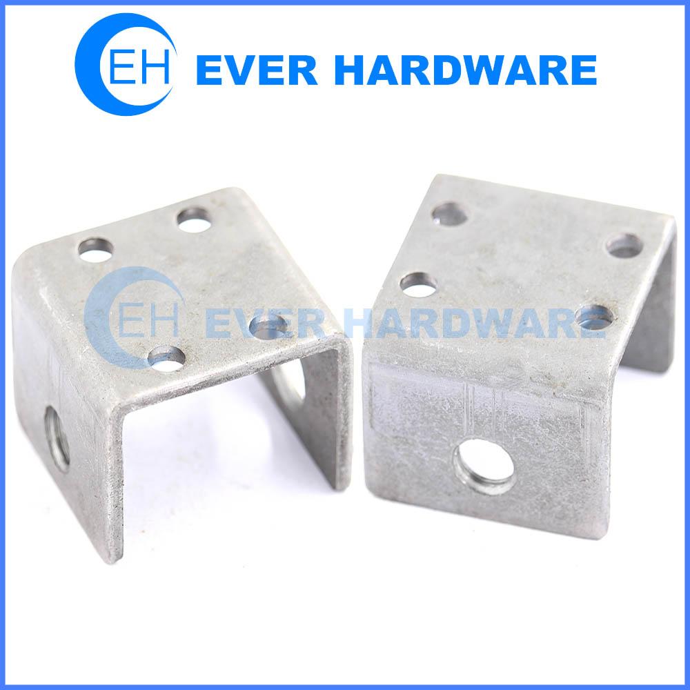 U bracket partition brackets metal angle brackets u shaped metal ...