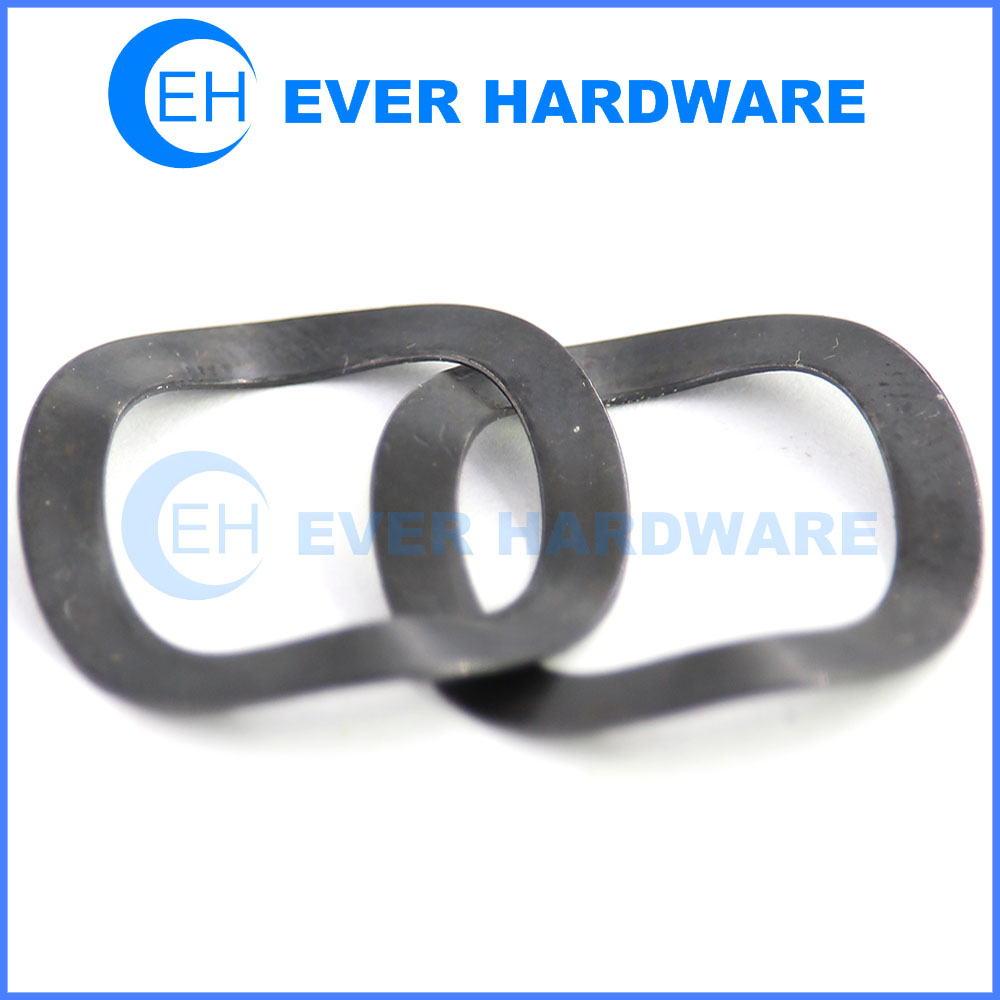 Wave washer spring steel washers spring black hardened metric