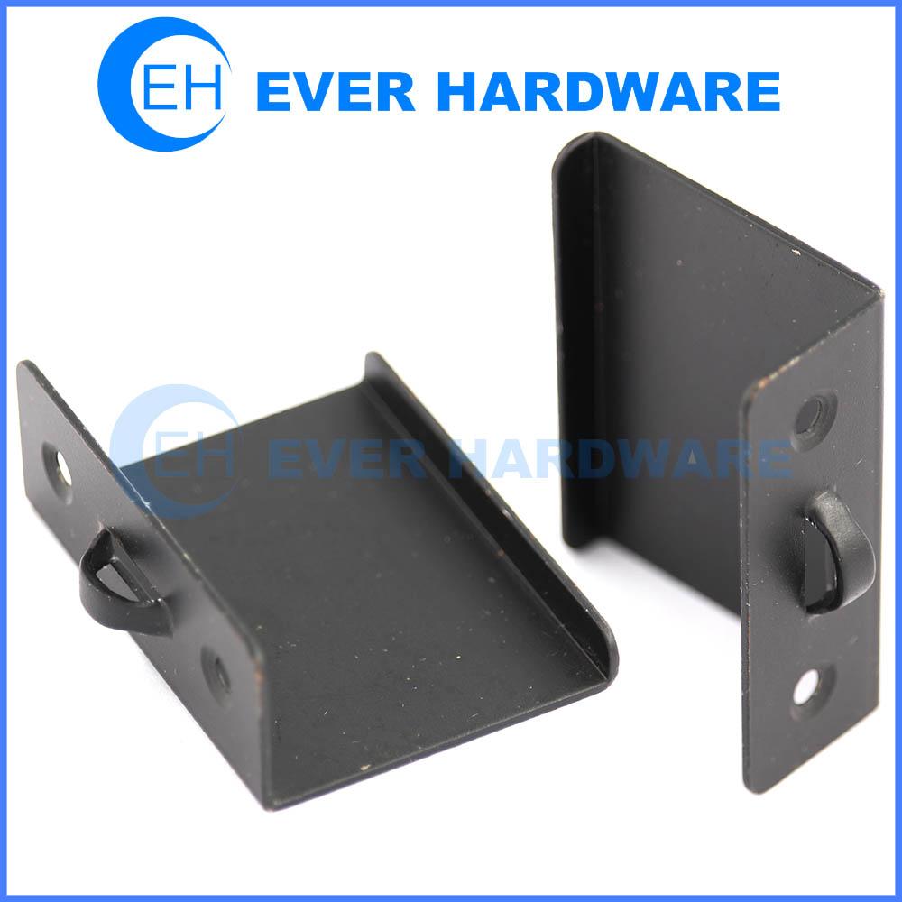 Custom Made Metal Bracket Black Plating Metal Adjustable