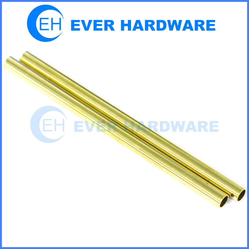 Brass tube bright pipe custom made round bar rail