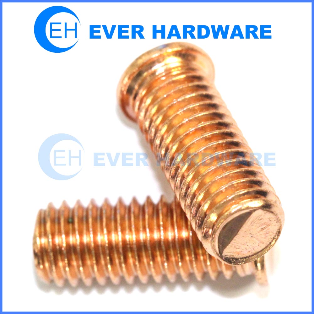 Lighting Basement Washroom Stairs: CD Weld Studs Non Flanged Welding Studs Coppered Steel