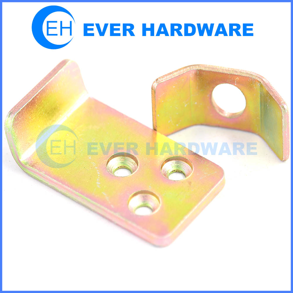 Channel bracket electro galvanized finish steel suitable angle brace manufacturer