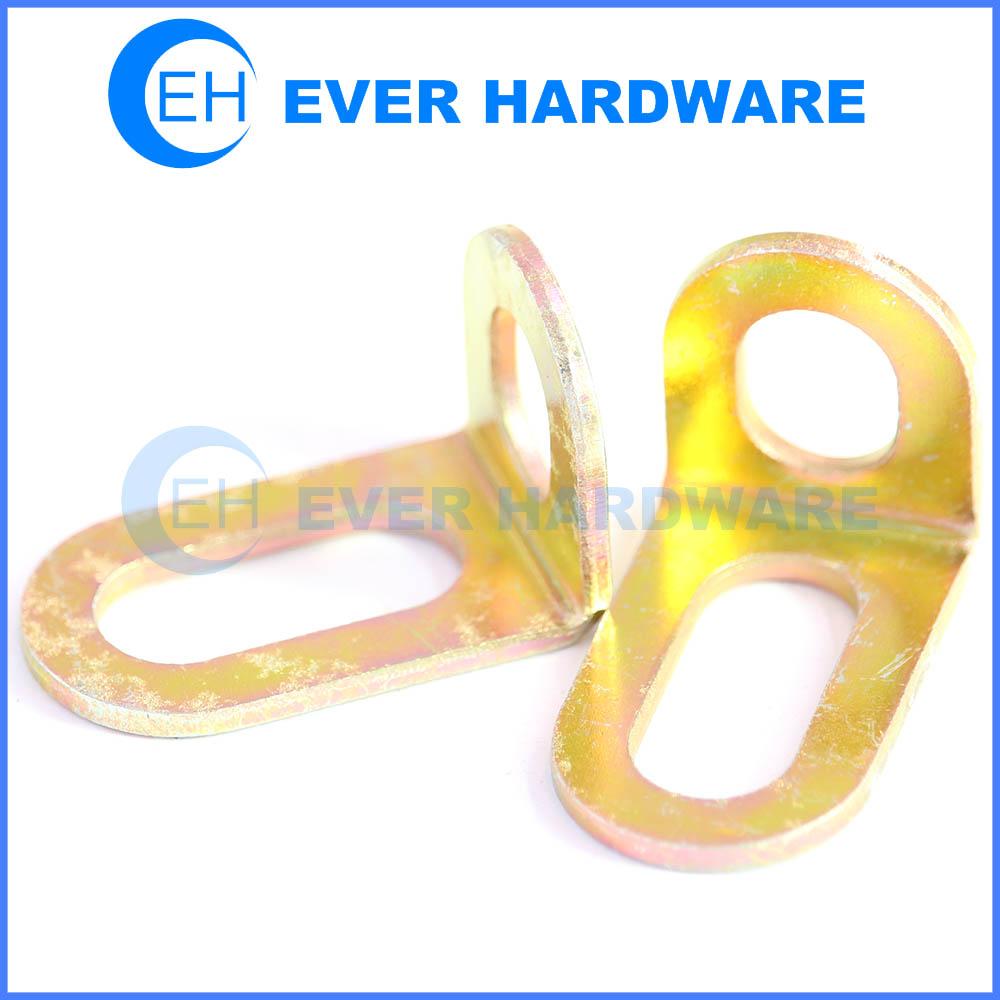 Hole steel angle bracket wood framing brackets hole fasteners frame ...