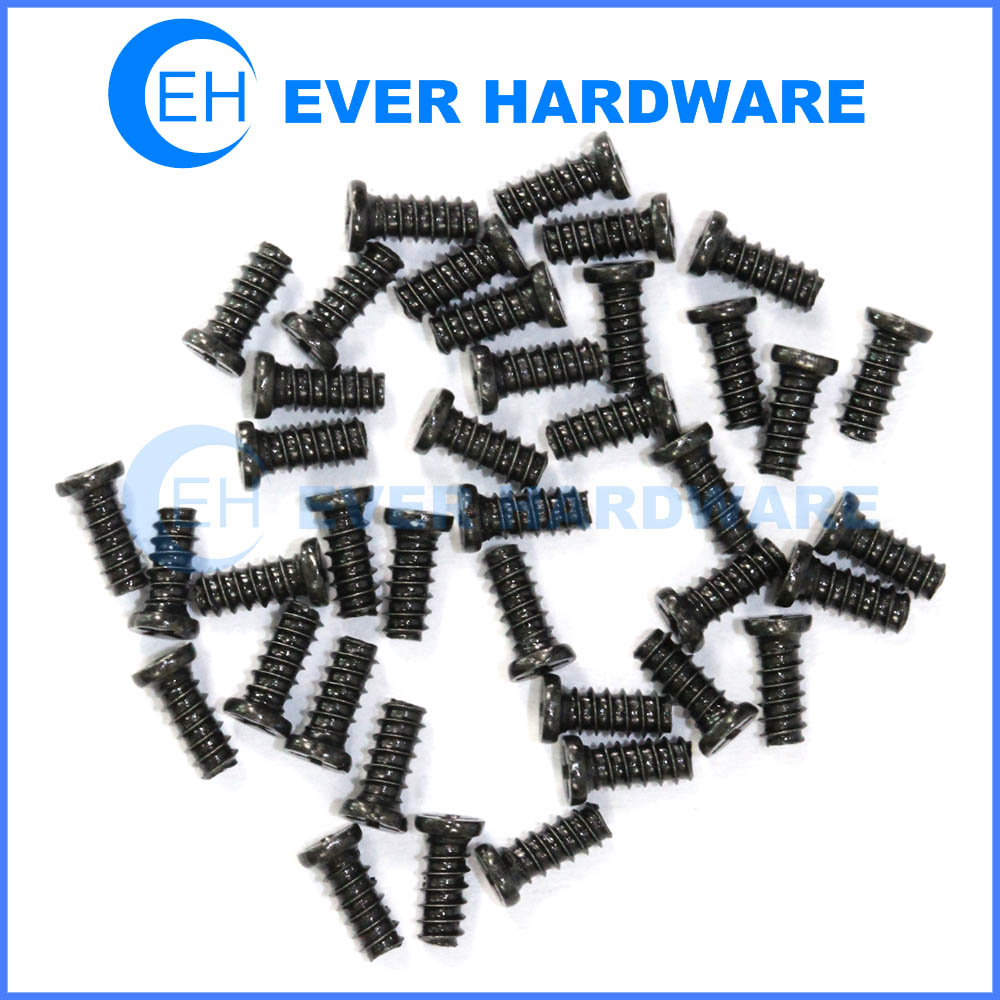 Micro Self Tapping Screws Small Round Head Fasteners Steel