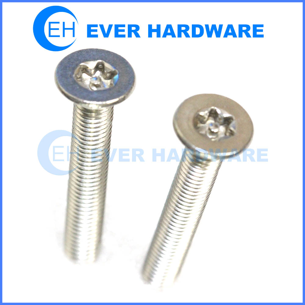 Security Csk Screws Pin In Torx Socket Flat Head Stainless