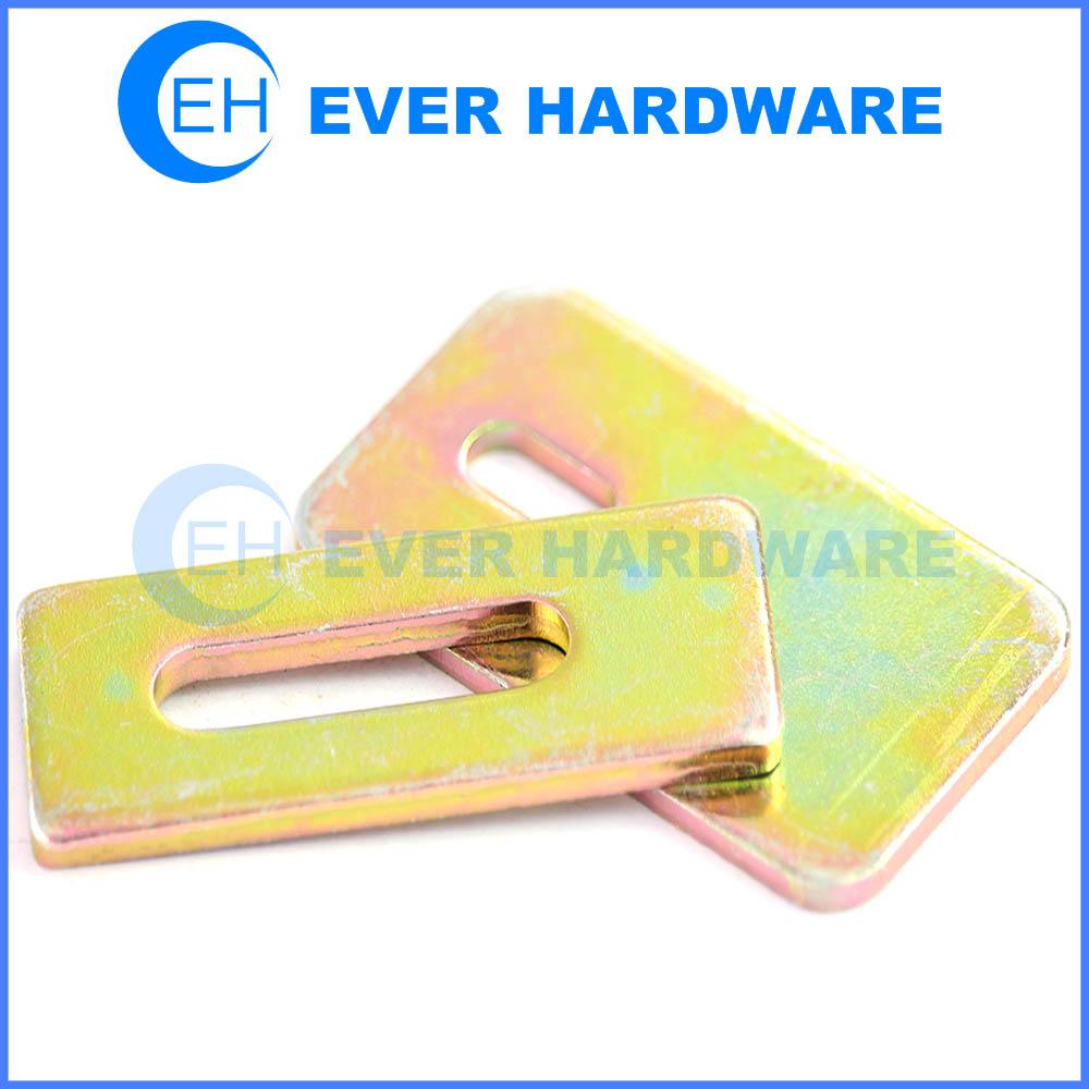 Sensor bracket flat straight adjustable brace metal yellow galvanizing manufacturer